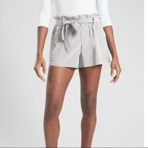 Athleta Skyline Shorts Paperbag Waist